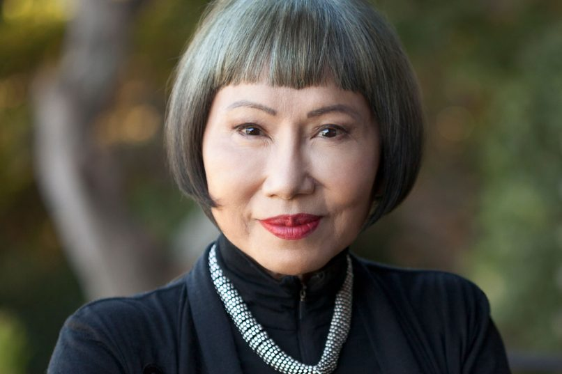 Amy Tan - portrait
