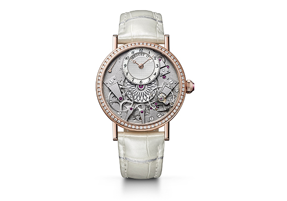 The Tradition Dame is equipped with calibre 505SR, which achieves  unimaginable levels of precision and performance. Breguet s movements  feature cutting-edge ... 42de36beca