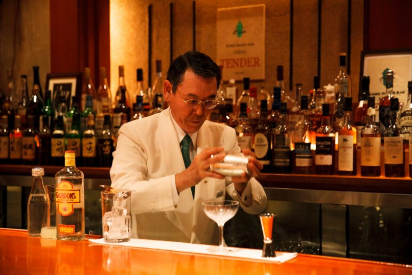 cocktail bars in ginza