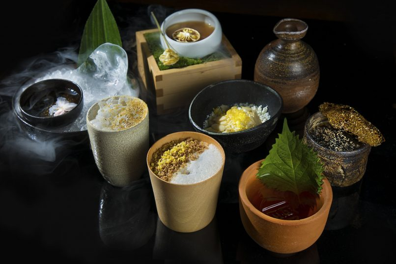 Where to drink in Hong Kong - Zuma bushido cocktail menu