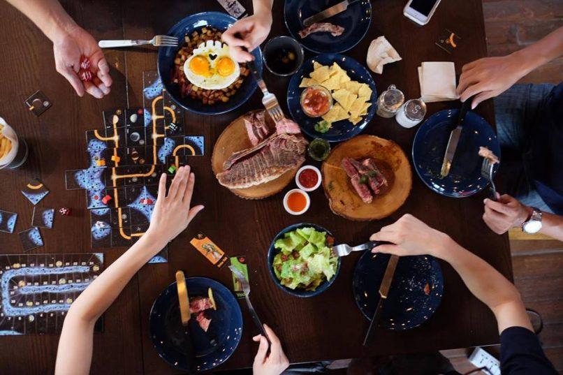 Caveman Base Bangkok restaurants