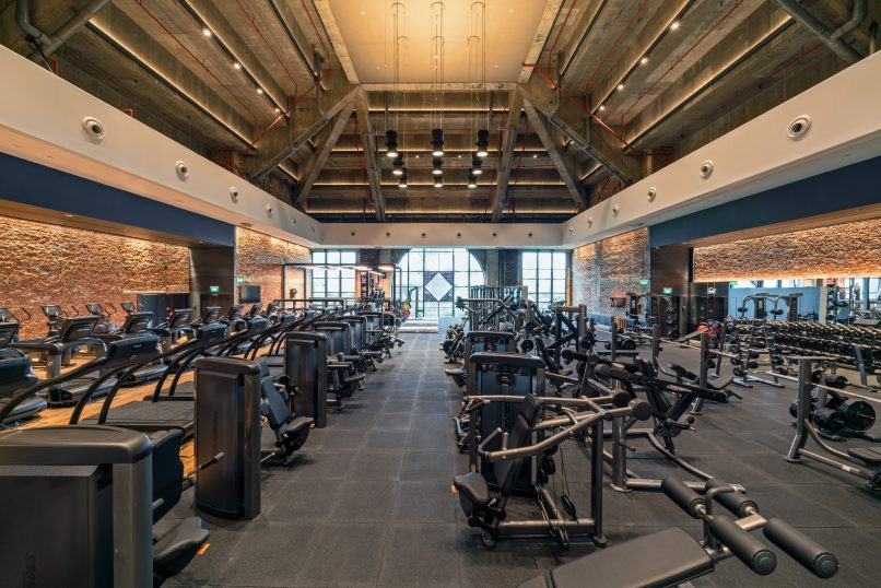 Pure Fitness Ngee Ann City Fitness Equipment