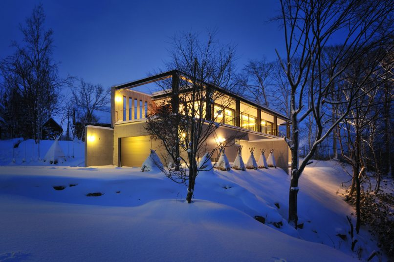 Niseko properties - Glasshouse