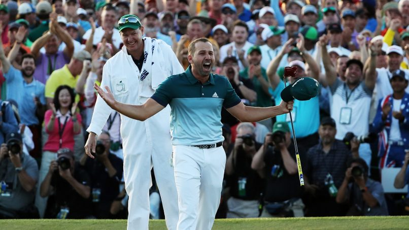The Masters - sergio garcia