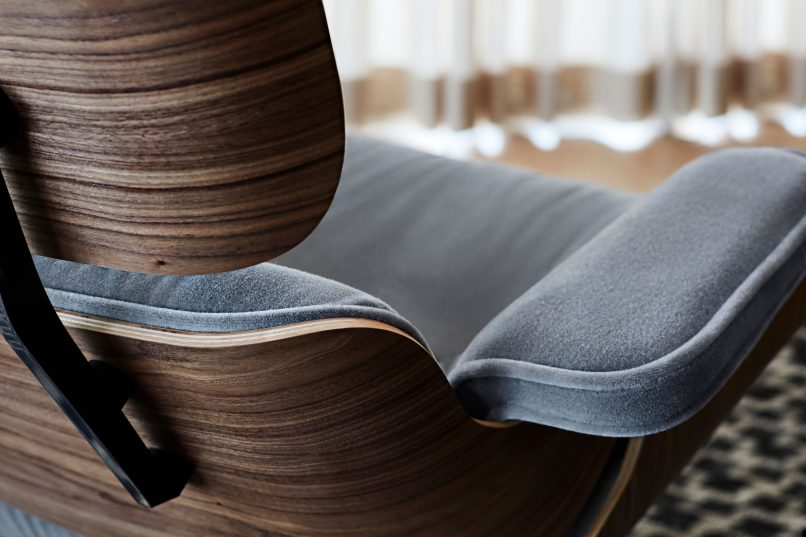 history behind the eames lounge chair
