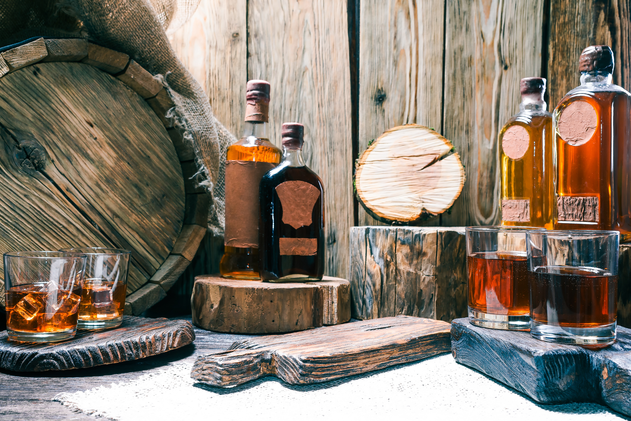 What To Look for When Purchasing Whiskey Barrels