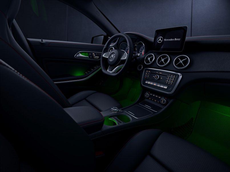 mercedes-benz CLA 200 Urban interior Mercedes-Benz CLA-Class