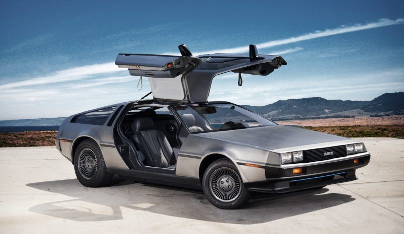 design icons cars delorean