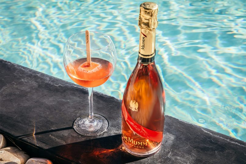 media x mumm - grand cordon rose