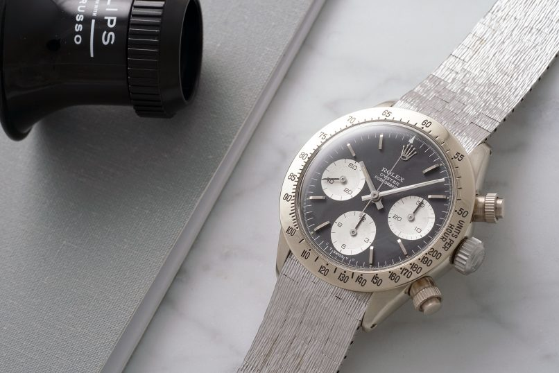 White Gold Rolex Daytona