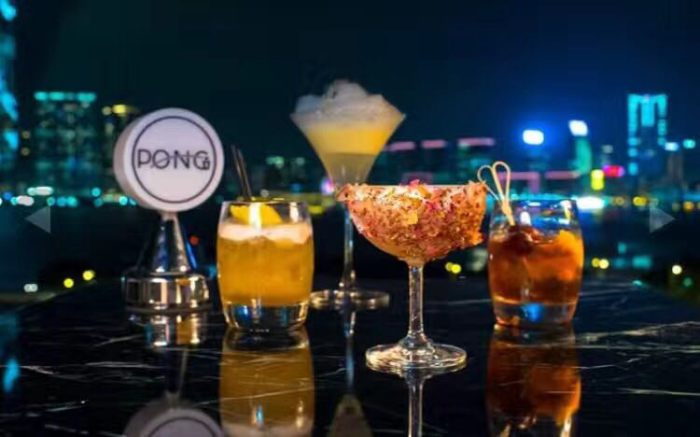 Where to drink in Hong Kong - Pong IFC