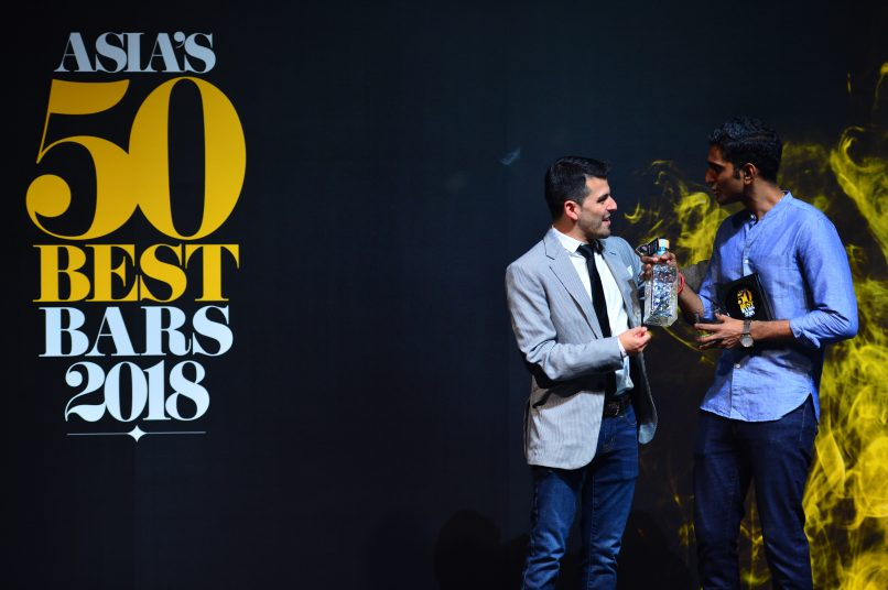 Asia's 50 best bars 2018 sg