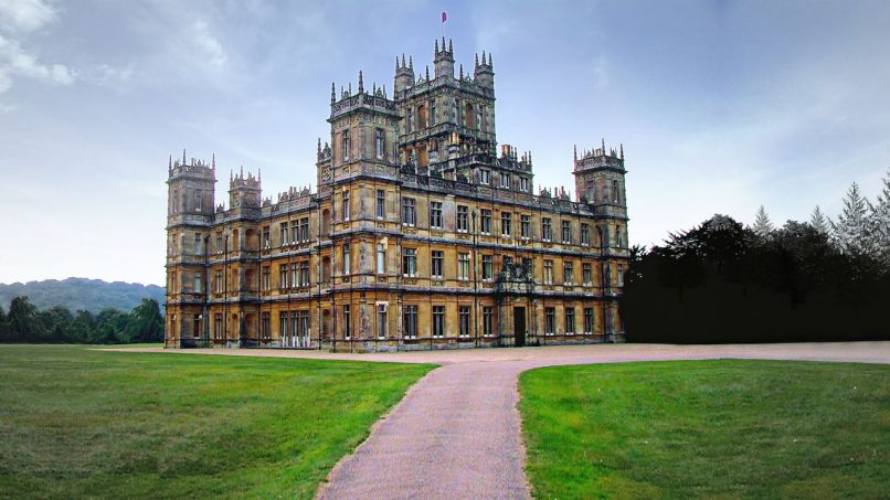 Netflix - Royal wedding - Highclere Castle