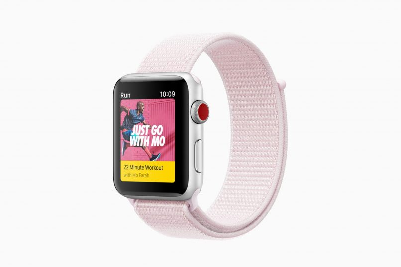 Apple Watch Series 3 - Nike+ Sport Loop Pink