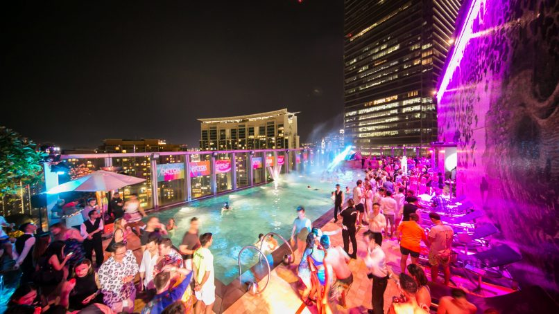 things to do in Hong Kong - W Hotel Pool Party