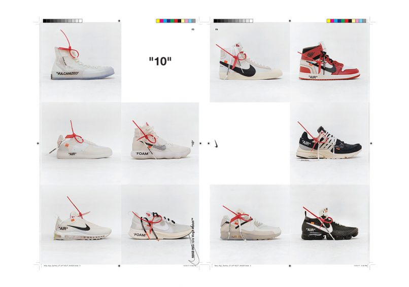 Nike x OFF-WHITE THE TEN COLLECTION