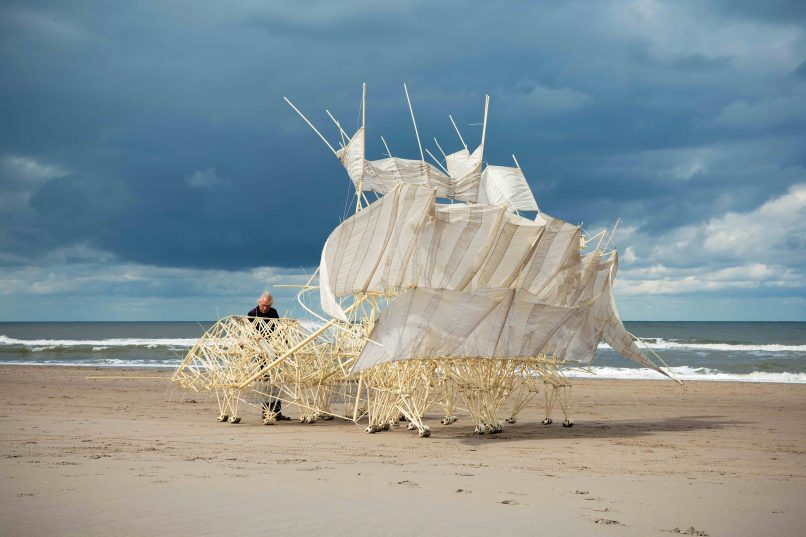Wind Walkers: Theo Jansen's Strandbeests - Lifestyle Asia