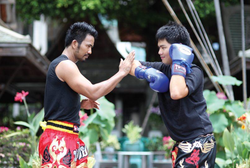 muay thai at The Peninsula Bangkok