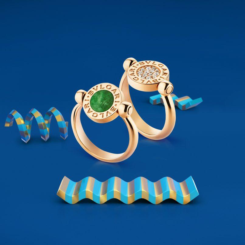BVLGARI-BVLGARI Classic Jewel rings