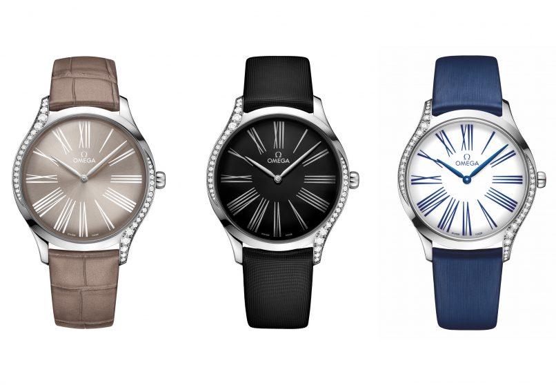 Omega Trésor Collection watch trio