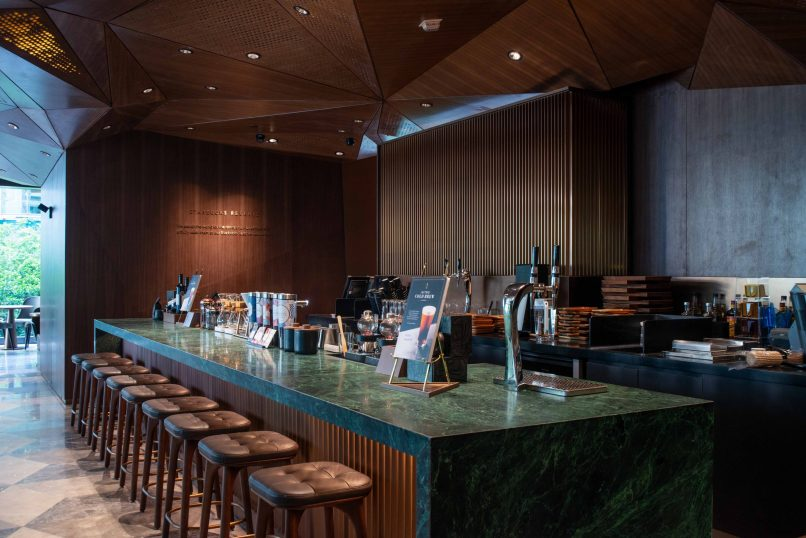 Where to drink in Hong Kong - Starbucks Flagship