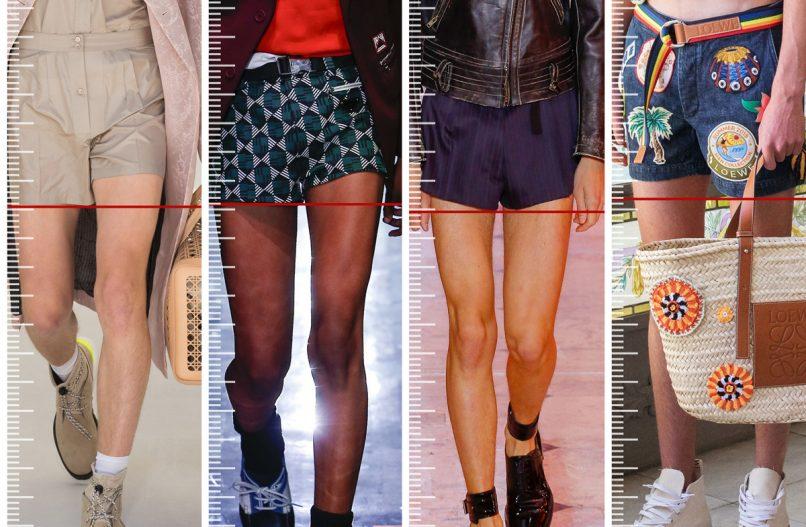 short shorts spring 2019 menswear
