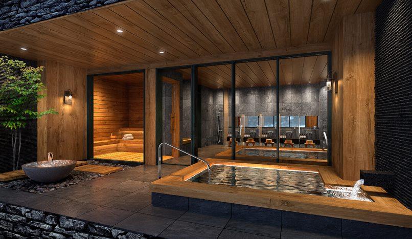 luxury ski condominium