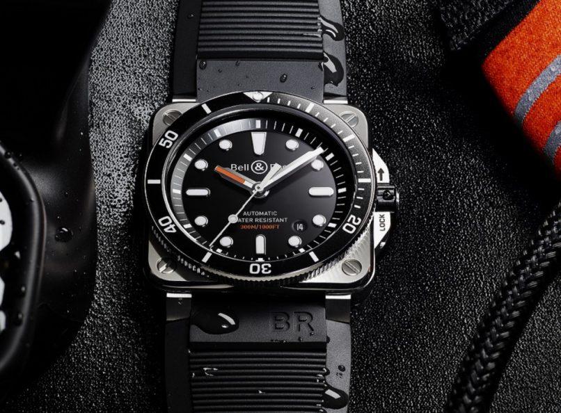 bell & ross br03-92 diver black