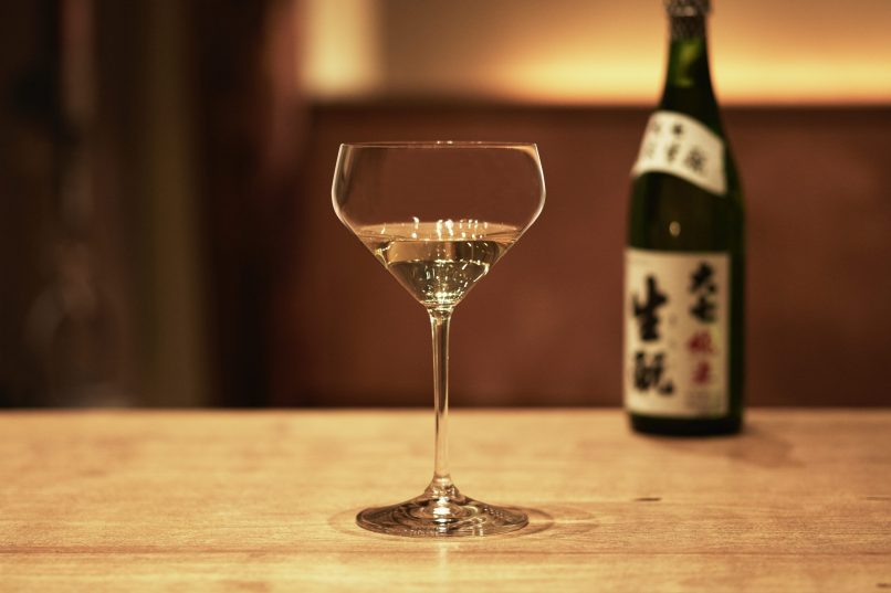 Riedel new Junmai Sake glass