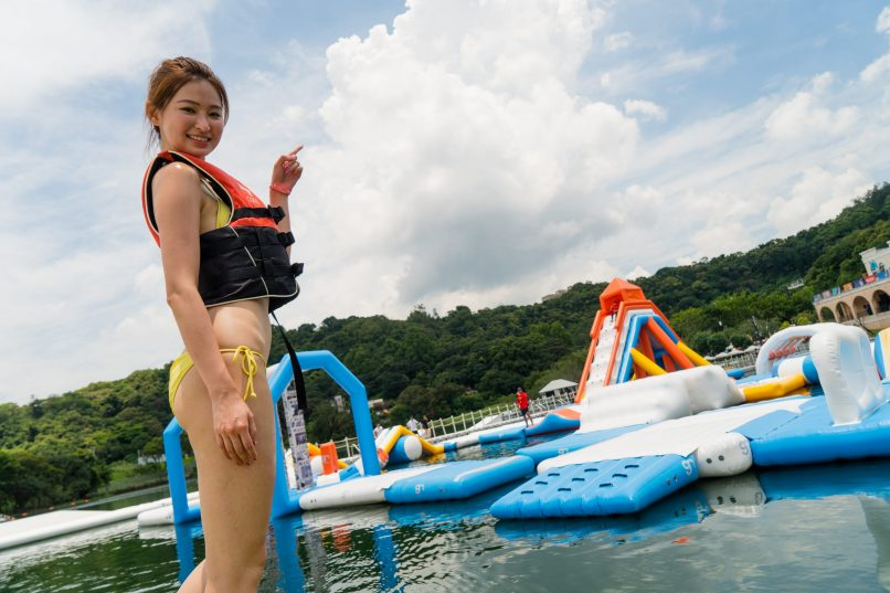 What to do in Hong Kong - July - Core Aqua Park
