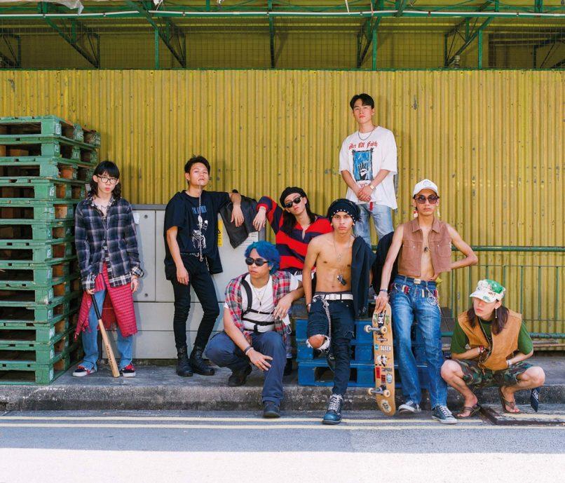 youths in balaclava