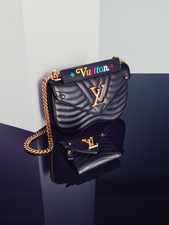 Louis Vuitton s New Wave bag is inspired by the musical genre of its  namesake to revisit the joyful, colourful spirit of the eighties in an  unexpected way. 76594ee63d