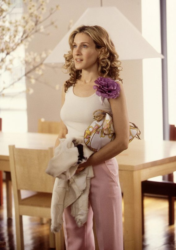 carrie bradshaw dior saddle