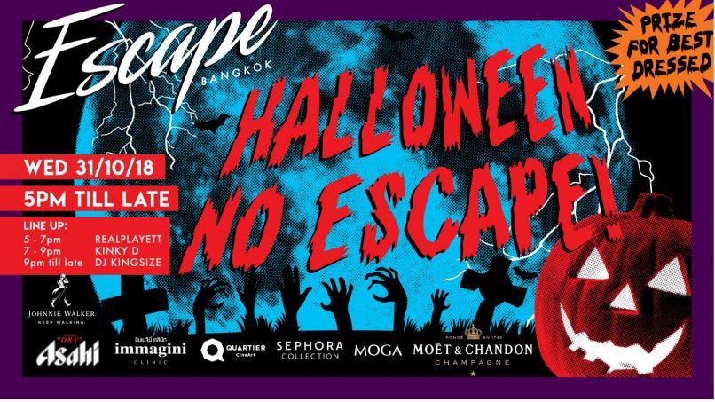 Halloween 2018 in Bangkok: Escape
