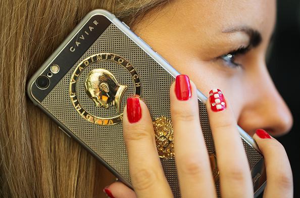 Caviar Luxury Smartphone Gold Plated