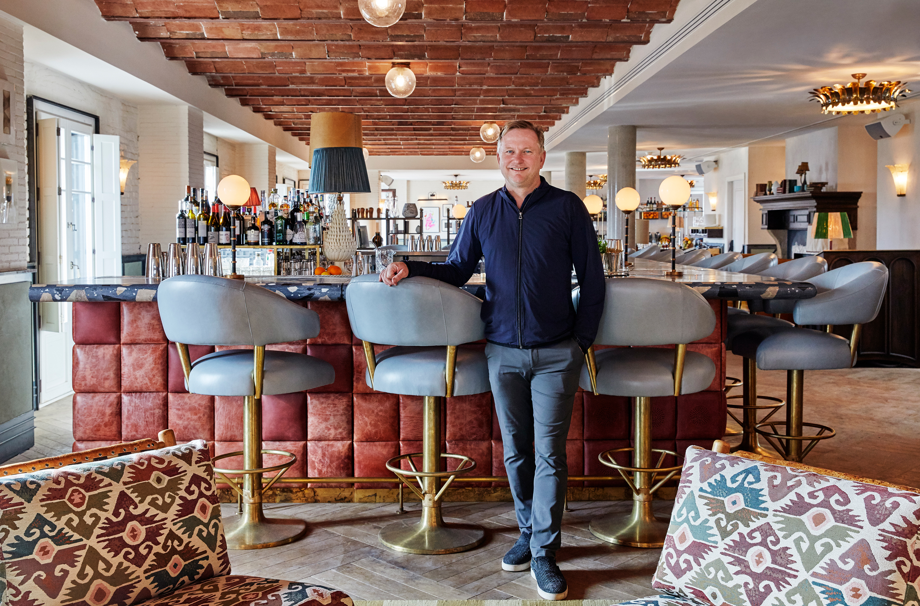 Nick Jones, Founder & CEO Soho House. Image: Courtesy Soho House Barcelona