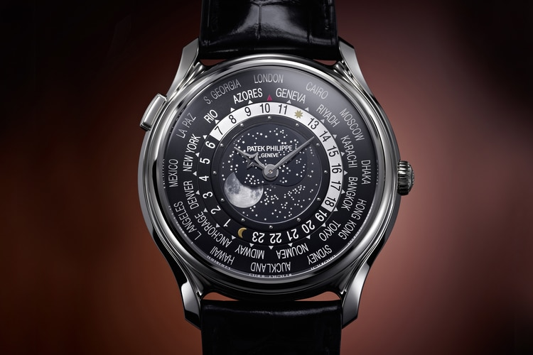 Patek Philippe World Time Moon 175th Anniversary