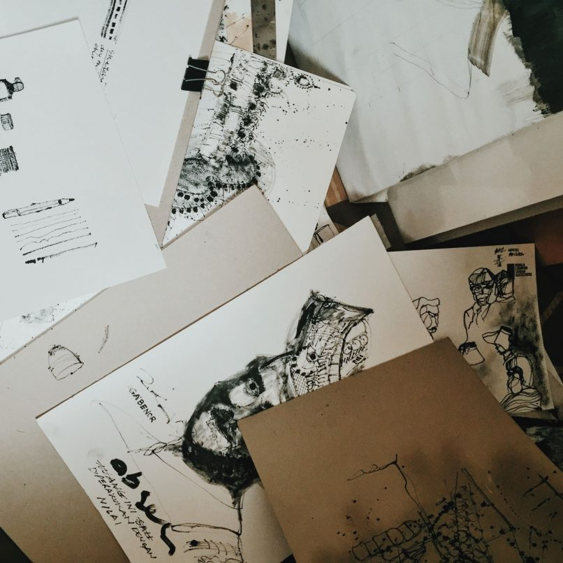 Urban sketch artist Paul Nickson Atia will showcase his architectural sketches from hist travels to cities around Asia.