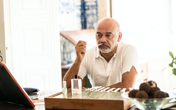 705052db3fde Christian Louboutin enters the world of fragrance as his new beauty project.