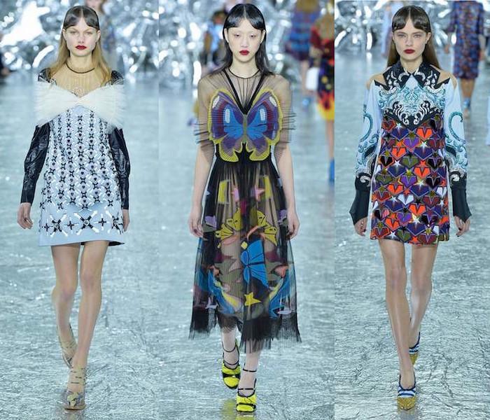 Mary Katrantzou LFW London Fashion Week