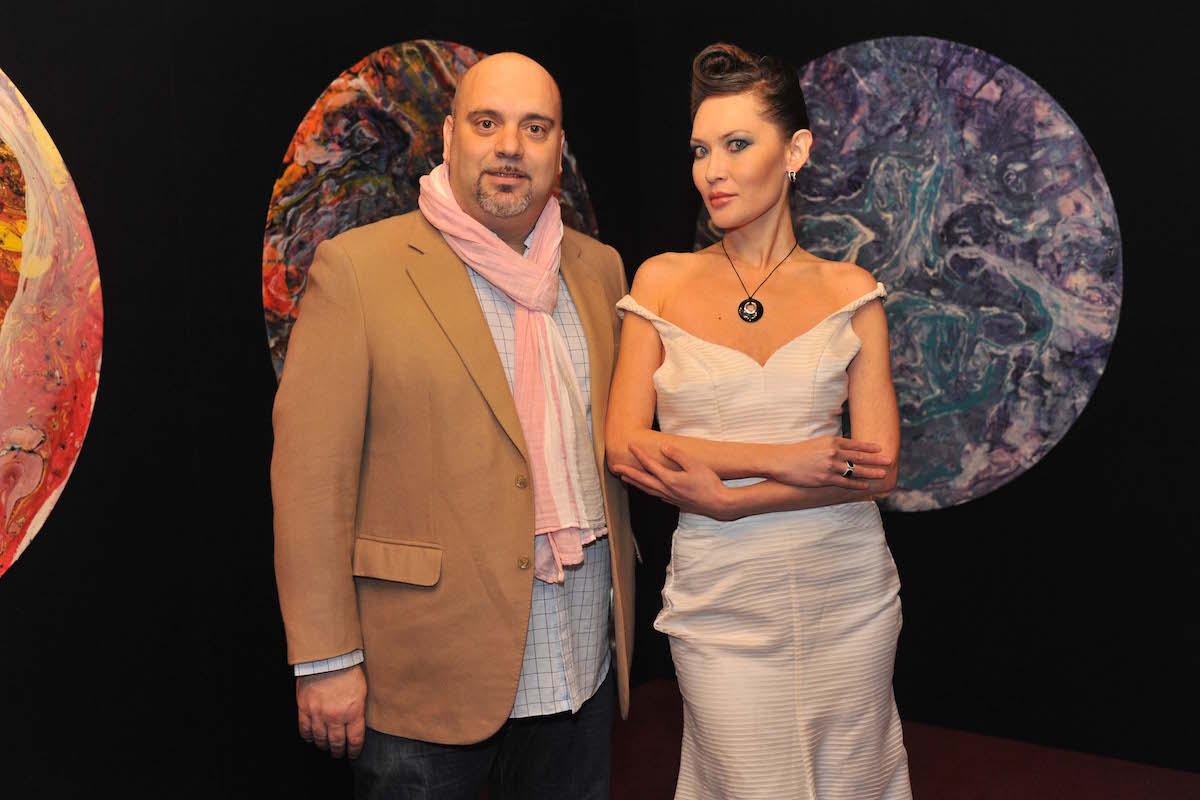 Danilo Giannoni Giamore with model copy
