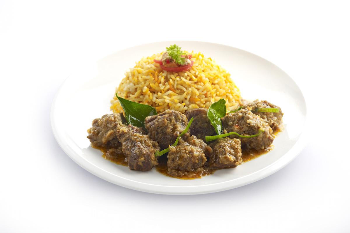 VendCafe Mutton Rendang with Briyani Rice copy