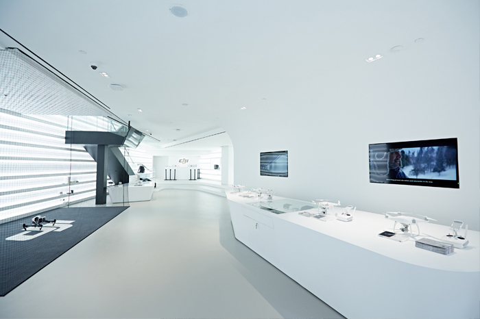DJI's Hong Kong flagship store opens in Causeway Bay