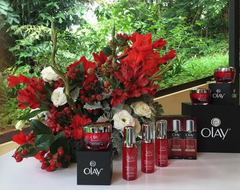 At the launch of @olay's Regenerist range featuring the micro-sculpting cream and the miracle boost youth pre-essence. #olaymy #ageless #miracleboost #lifestyleasiakl