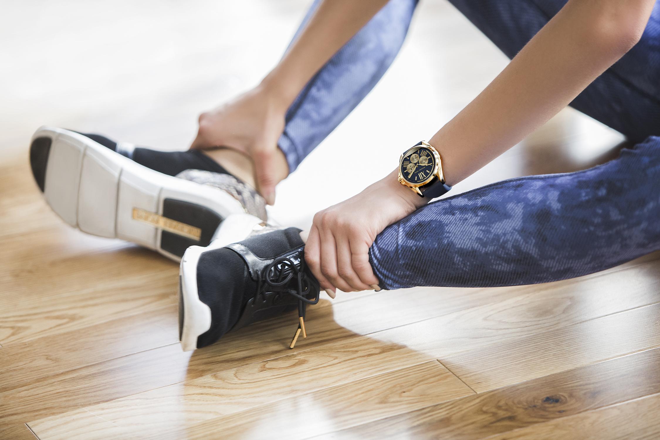 Michael Kors Smart Watch - Martha Hunt Zendaya