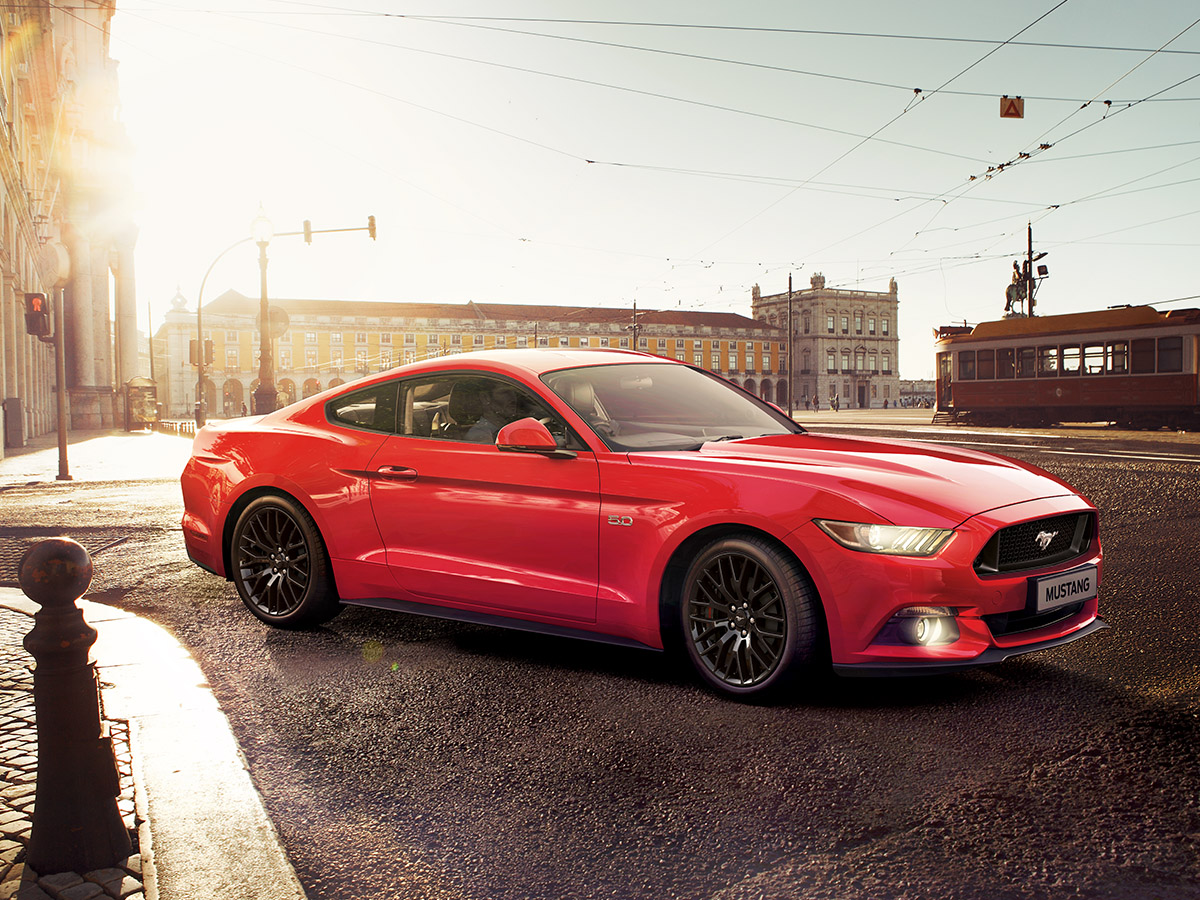 Bearing rein: The Ford Mustang