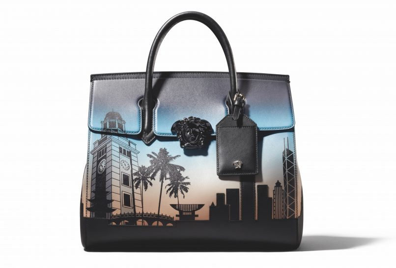 d466bb6e8c Versace's exclusive Palazzo Empire bag for Hong Kong