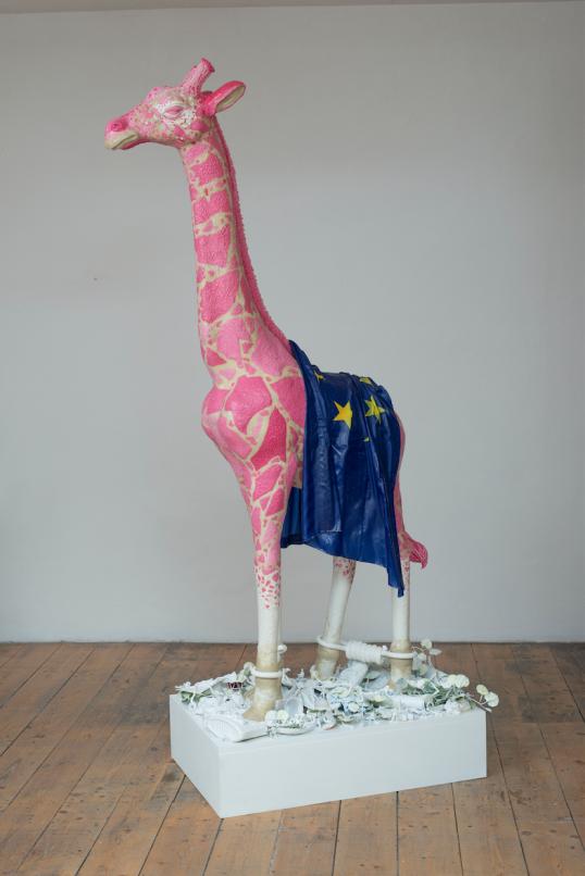 Maurizio Savini giraffe