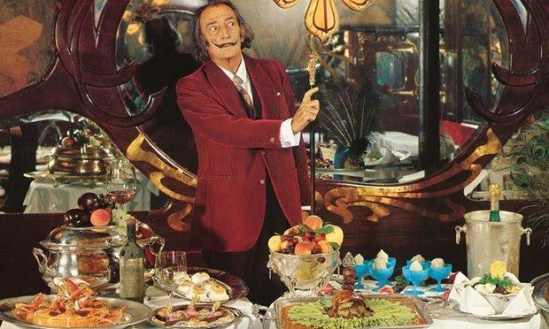 Salvador Dali cookbook