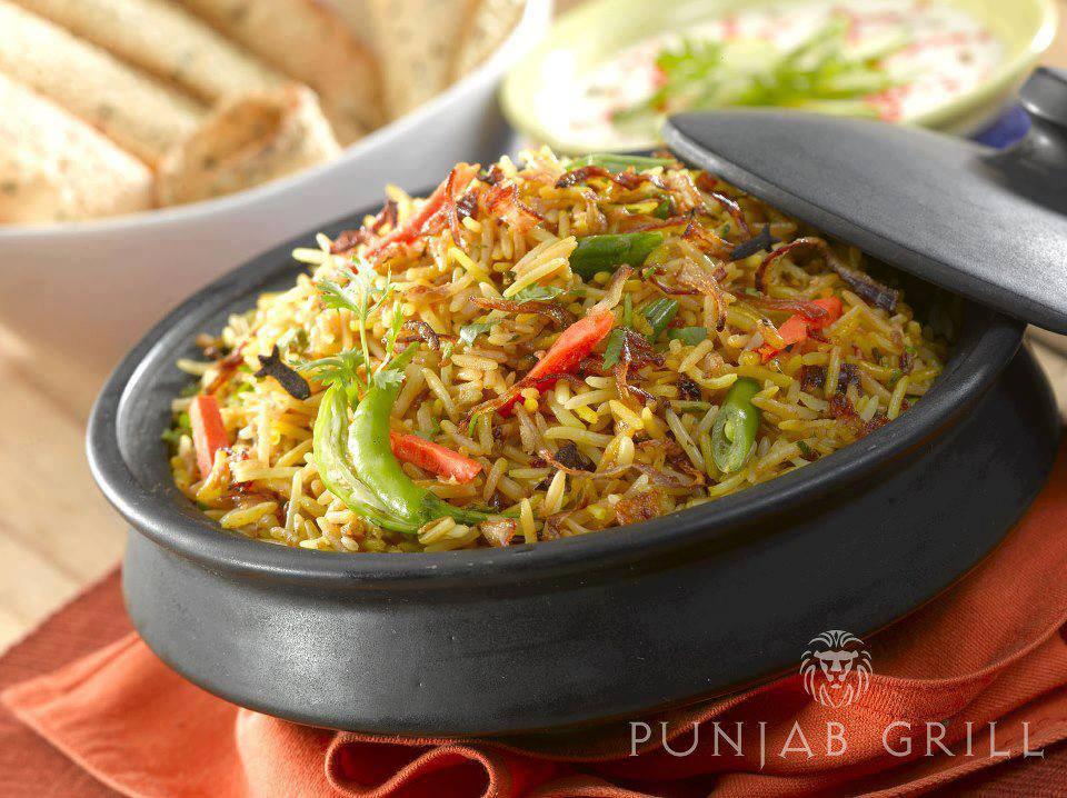 Punjab Grill Vegetable Pulao